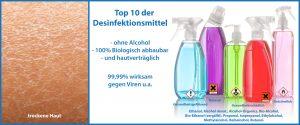 Top 10 Desinfektionsmittel